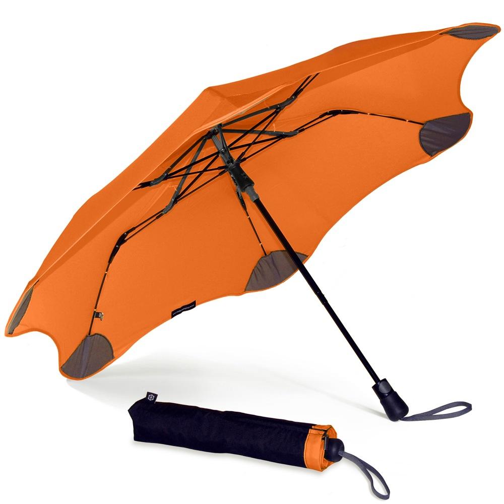 Зонт Blunt XS Metro оранжевый полуавтоматический в два сложения