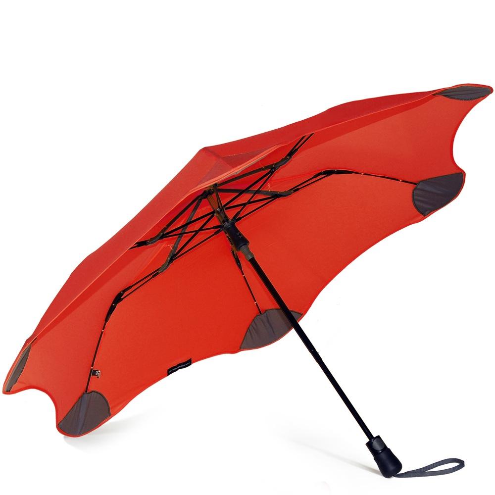 Зонт Blunt XS Metro красный полуавтоматический в два сложения