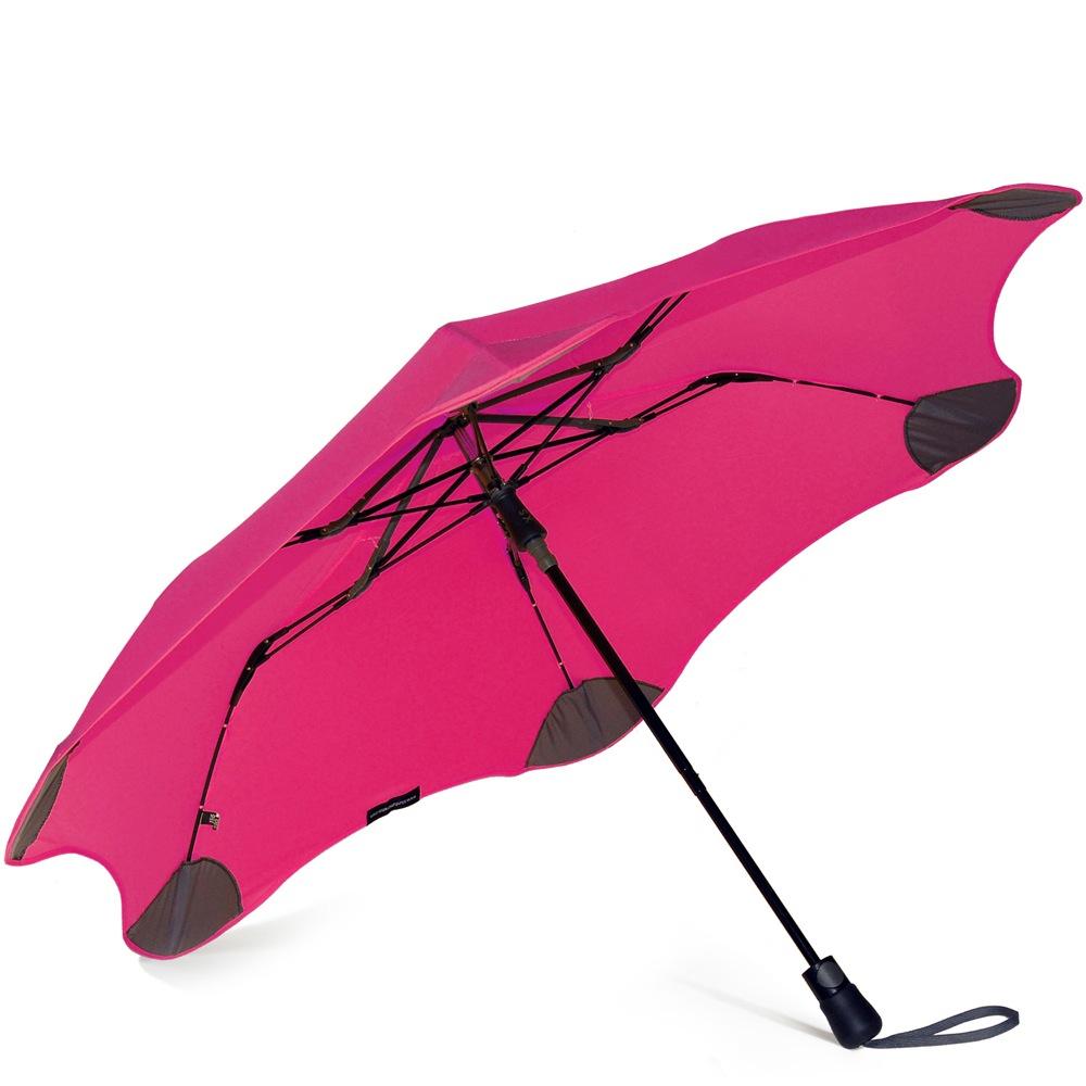 Зонт Blunt XS Metro яркий розовый полуавтоматический в два сложения