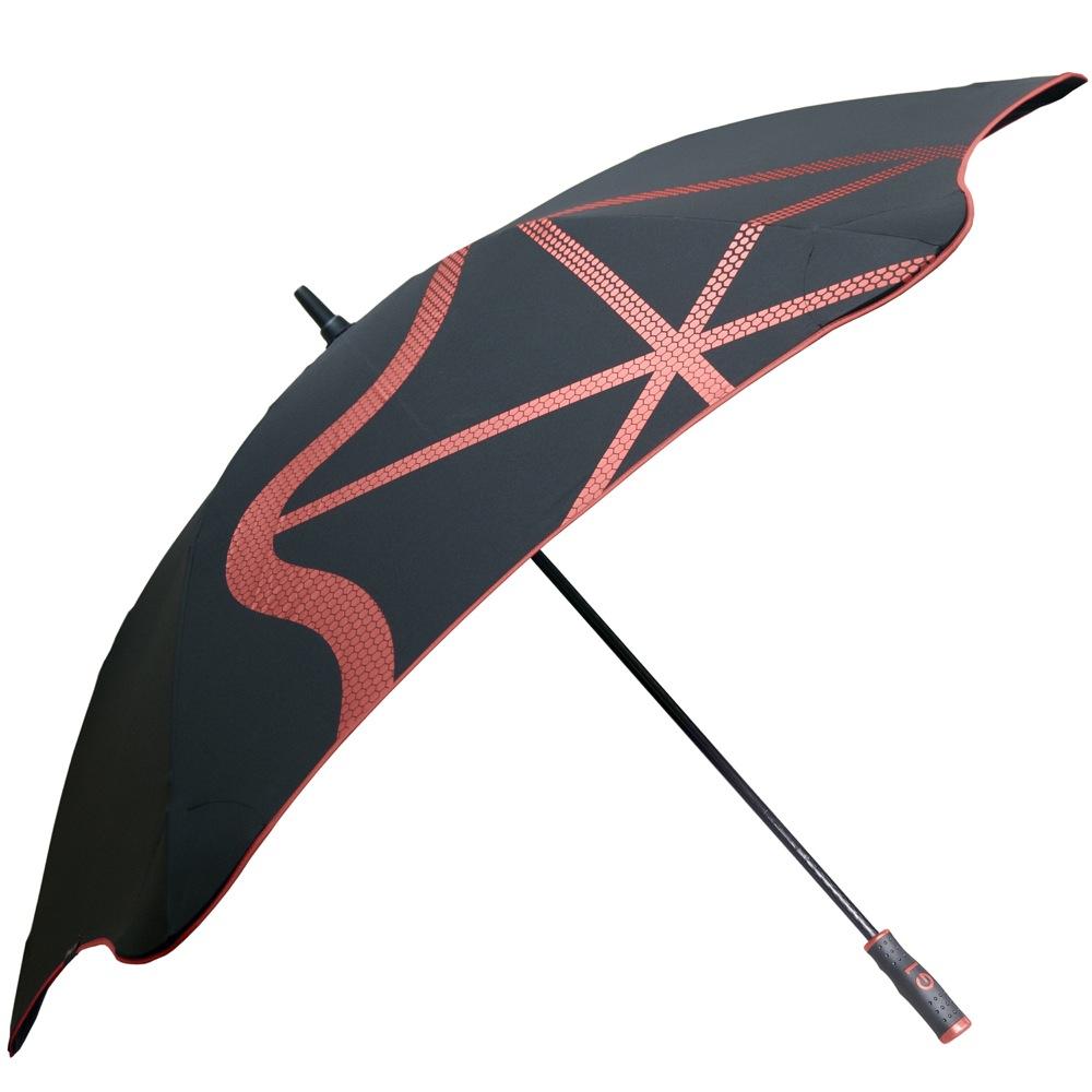 Зонт-трость Blunt Golf G1 черно-красный с большим куполом