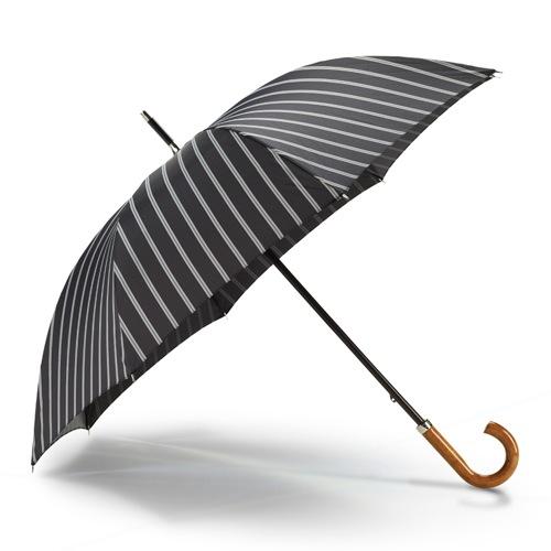 Зонт Dalvey Gentlemans Walking черные полоски