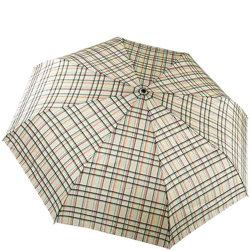 Автоматический зонт Ferre в нейтральную клетку с большим куполом