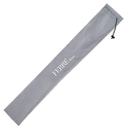 Большой автоматический зонт Ferre в уютную красно-белую клетку