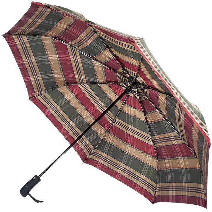 Большой зонт-автомат Ferre в клетку