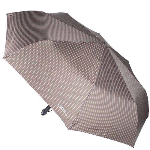Классический большой зонт Ferre с автоматическим механизмом в тонкую полоску