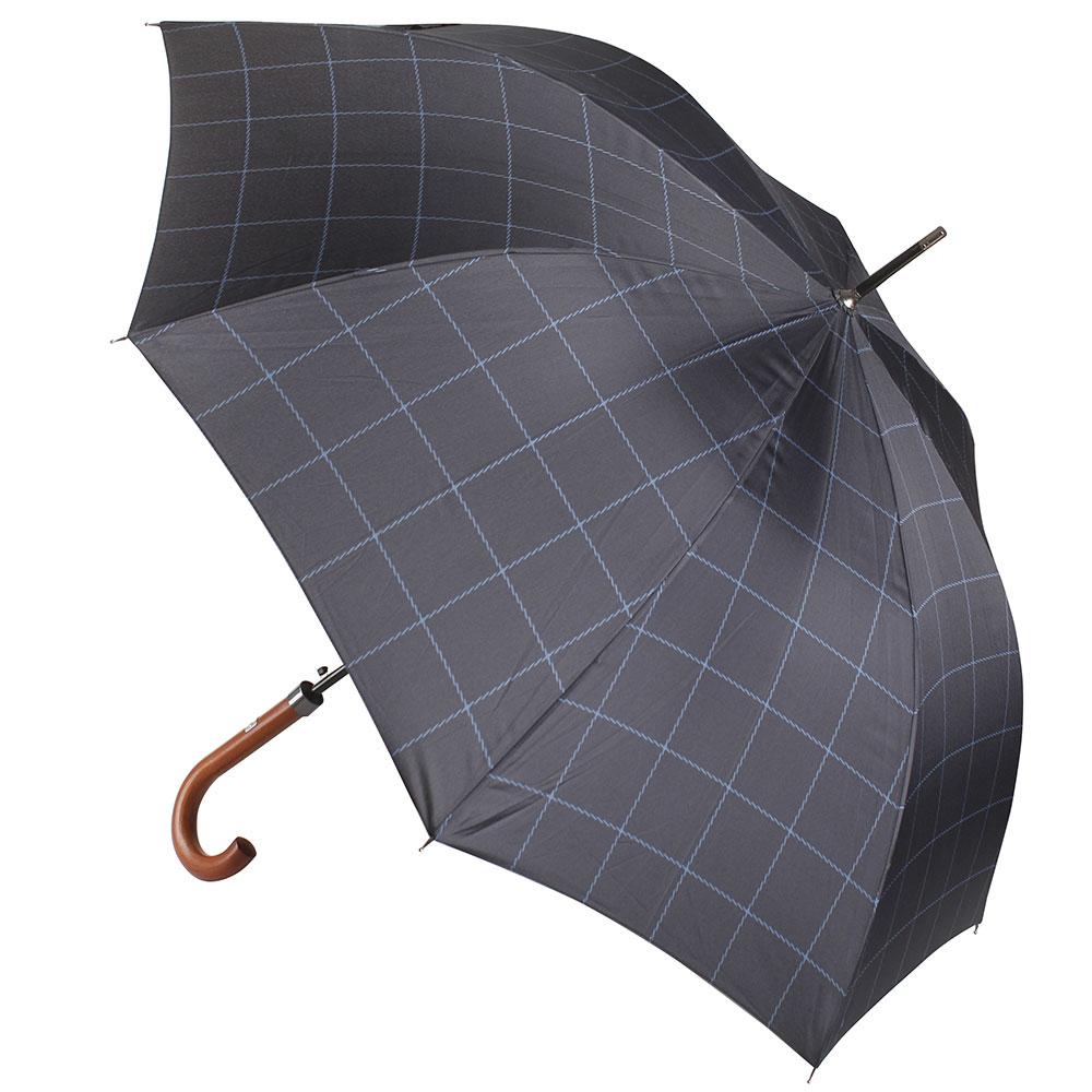 Зонт-трость Ferre Milano синий в полоску