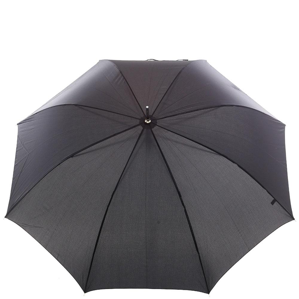 Зонт-трость Ferre черного цвета