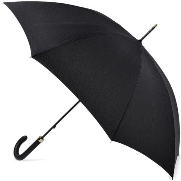 Мужской зонт-трость Fulton Minister черного цвета