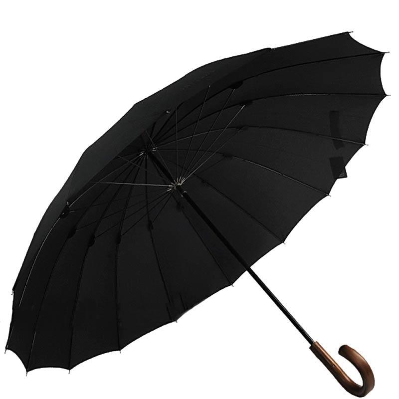 Зонт-трость Bugatti 71763BU черного цвета