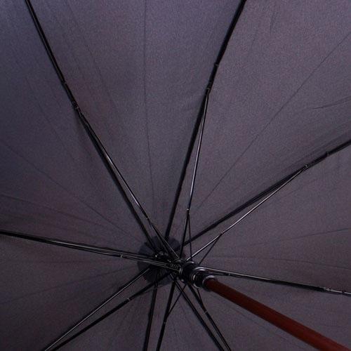 Зонт-трость Doppler полуавтоматический с деревянной ручкой
