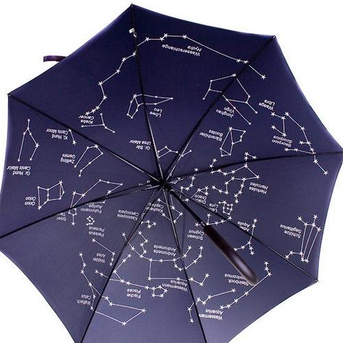 Зонт-трость Doppler Звездное небо полуавтомат