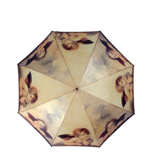 Зонт-трость Derby Art Collection автоматический с репродукцией Рафаэля «Маленькие ангелы»