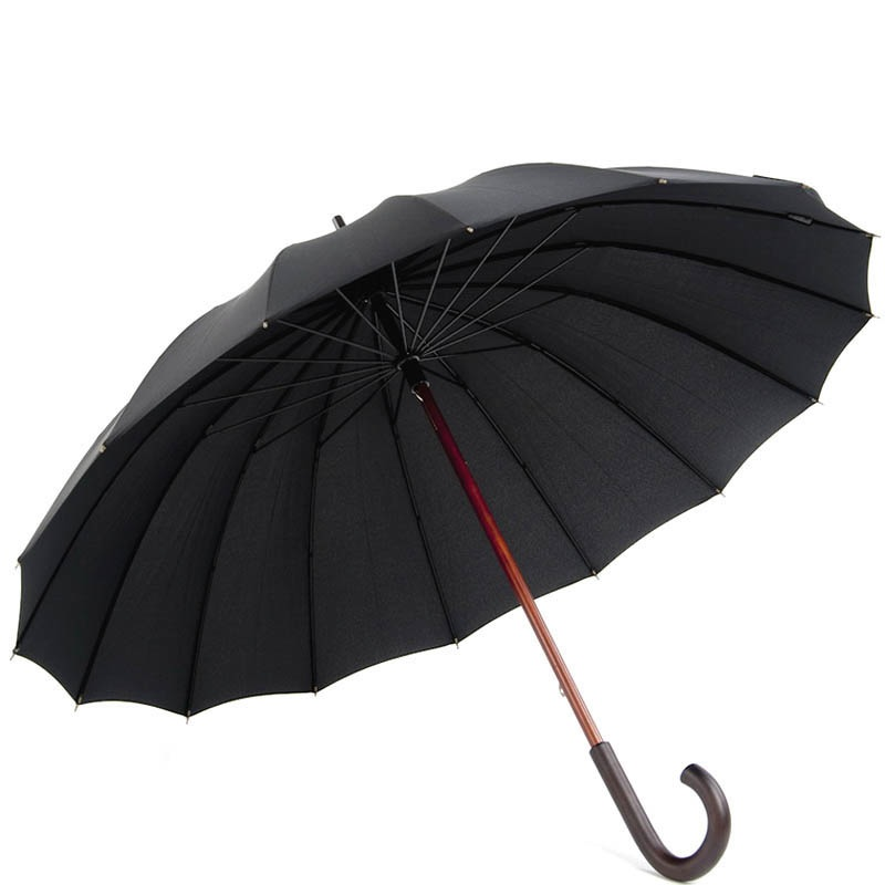 Зонт-трость Doppler мужской модель 74166 черного цвета