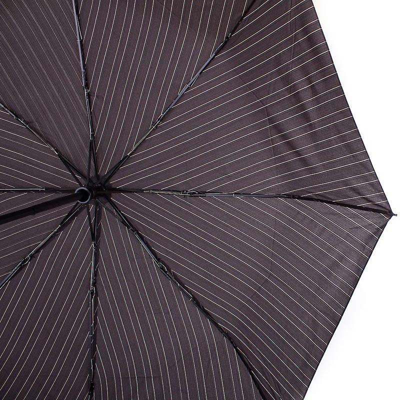 Зонт-автомат Doppler мужской модель 7441467 черного цвета в полоску