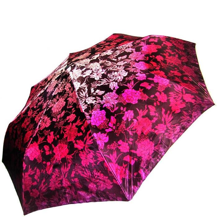 Зонт-автомат Doppler женский модель 74665GFGF18 розовый с пионами
