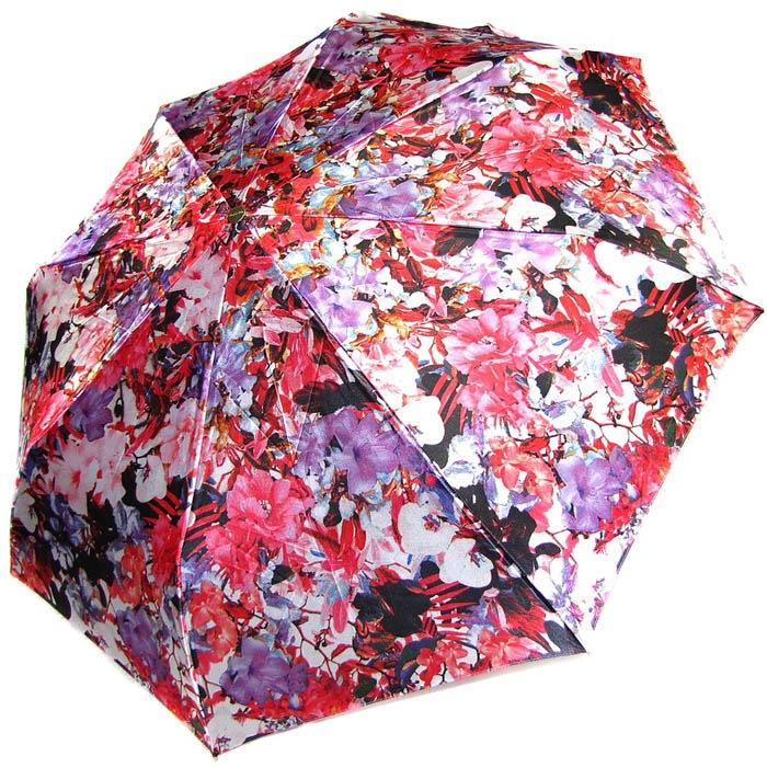 Зонт-автомат Doppler женский модель 74665GFGFO красный с принтом