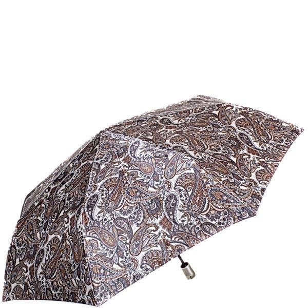 Зонт-автомат Doppler женский модель 74665GFGPE коричневого цвета с узором пейсли