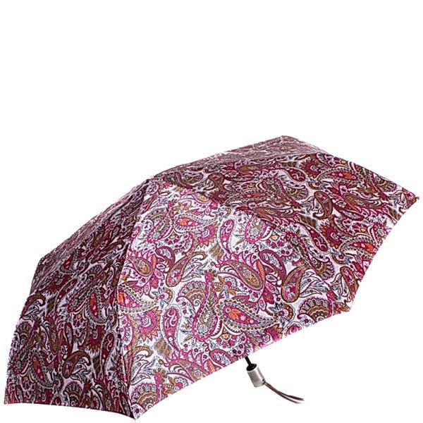 Зонт-автомат Doppler женский модель 74665GFGPE красного цвета с узором пейсли