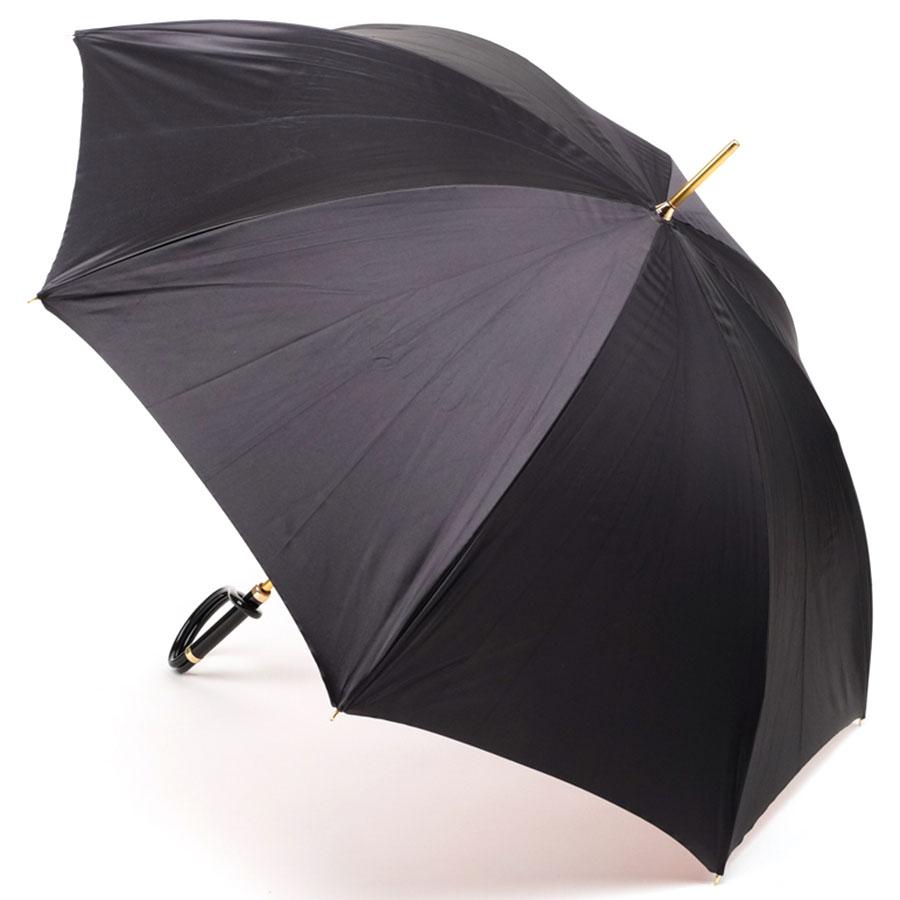 Двухцветный зонт Pasotti с цветочным принтом