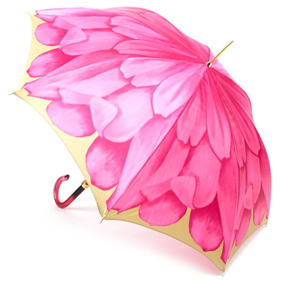 Зонт-трость Pasotti с цветочным принтом