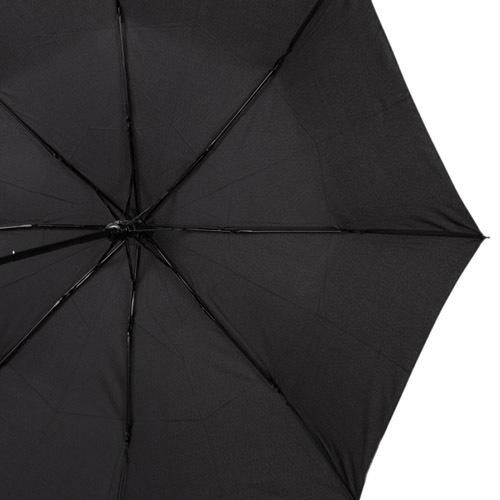 Зонт-полуавтомат Pierre Cardin антиветер в 3 сложения черный, фото