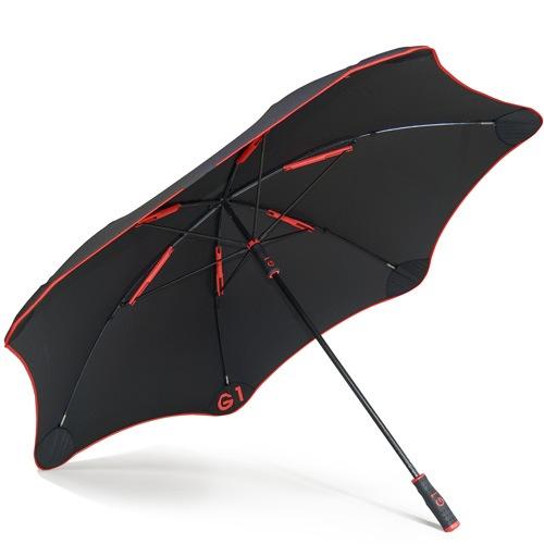 Зонт-трость Blunt Golf G1 черно-красный с большим куполом, фото