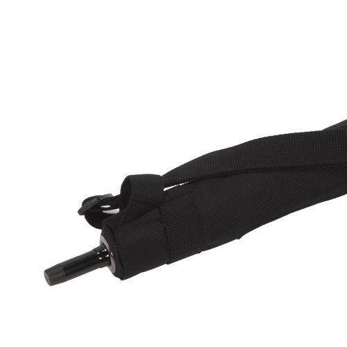 Зонт-трость Blunt Golf G1 черно-розовый с большим куполом, фото