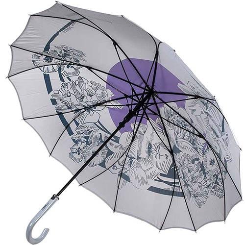Прочный зонт-трость Ferre с большим куполом из пропитаного полиэстера, фото