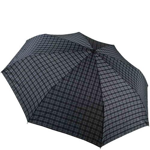 Классический прочный клетчатый зонт Ferre с автоматическим механизмом, фото