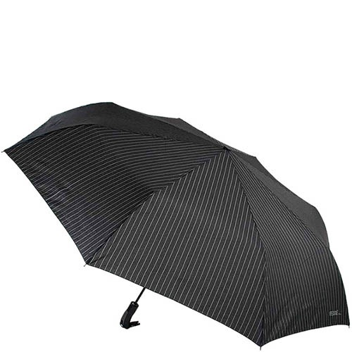 Большой автоматический зонт Ferre с металлическим принтом, фото