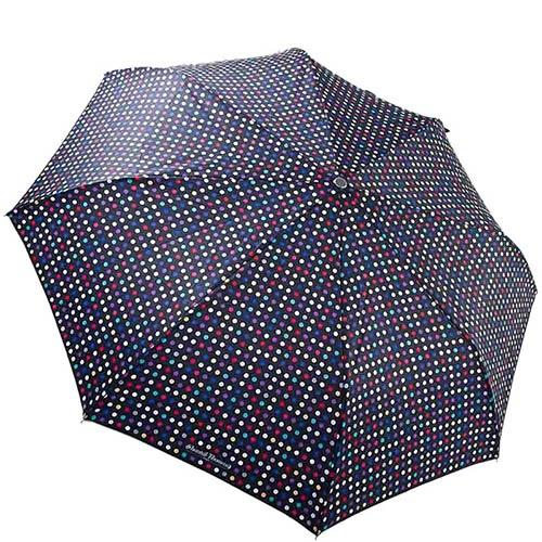 Большой женский зонтик Chantal Thomass в разноцветный горох, фото