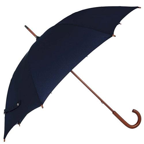 Зонт-трость Fulton Kensington-1 синего цвета, фото