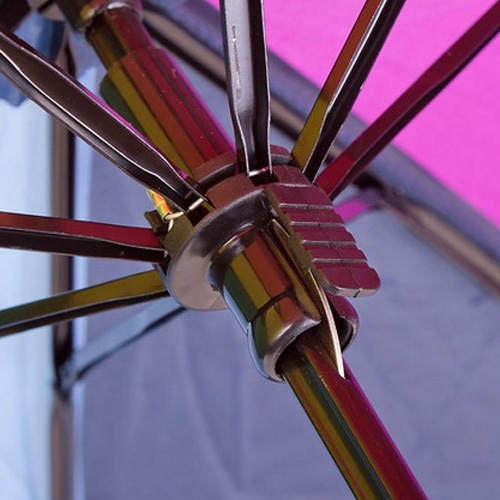 Зонт Derby механический в 3 сложения с 8 спицами разноцветный, фото