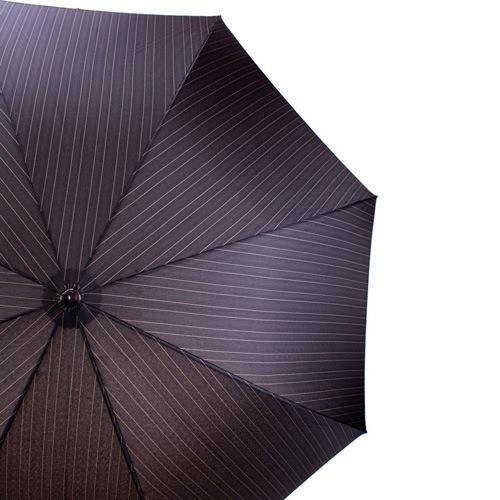 Зонт-трость Doppler полуавтоматический с деревянной ручкой, фото