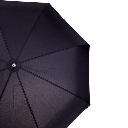 Зонт-автомат Doppler Magik XM Carbon антиветер в 3 сложения черный, фото