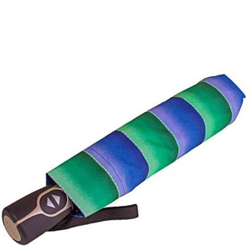 Зонт автомат Doppler модель 7441465ST женский синий с зеленым, фото