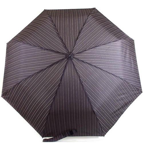 Зонт-автомат Doppler мужской модель 7441467 черного цвета в полоску, фото