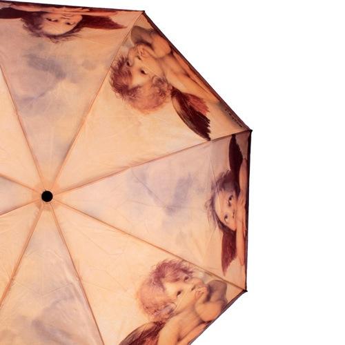 Зонт-автомат Doppler Art Collection в 3 сложения с репродукцией Рафаэля «Маленькие ангелы», фото