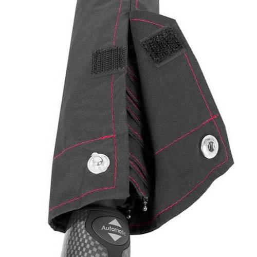 Зонт-автомат Bugatti мужской модель 74666BU черный, фото