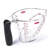 Угловая мерная чаша OXO Measuring с ручкой, фото