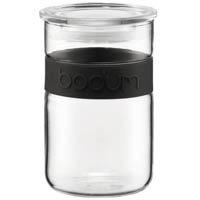 Банка для продуктов Bodum Presso черная 0.6 л, фото