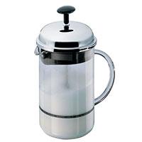 Взбиватель молока Bodum Chambord со стальной крышкой 0,25л, фото