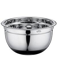Миска Küchenprofi Kitchen Utensils серебристого цвета 20см, фото