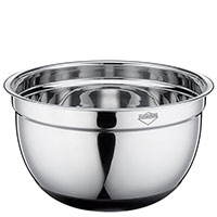 Миска Küchenprofi Kitchen Utensils серебристого цвета 24см, фото