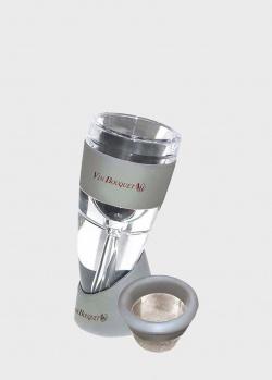Ручной аэратор Vin Bouquet Para Servir Милениум с фильтром и мешочком, фото