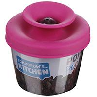 Дозатор для завтрака Vacu Vin PopSome розового цвета, фото