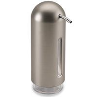 Дозатор для жидкости Umbra Penguin цвета металлик, фото