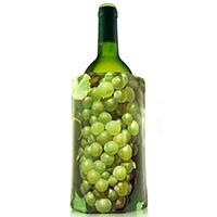 Охладитель Vacu Vin Grapes White J-Hook для бутылки вина, фото