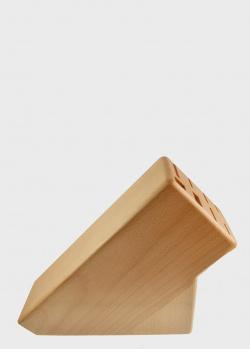 Подставка на 6 ножей Gude коричневая , фото