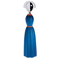 Мельница для перца Alessi Anna Pepper голубого цвета, фото